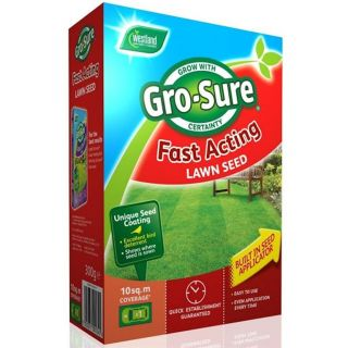 Westland Gro-Sure Fast Acting Lawn Seed 10m2 + 50%
