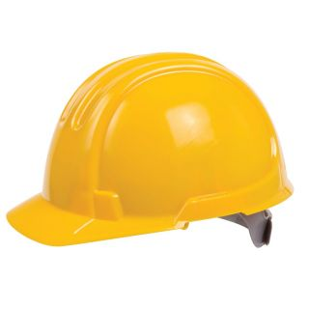 Ox Standard Safety Helmet Yellow