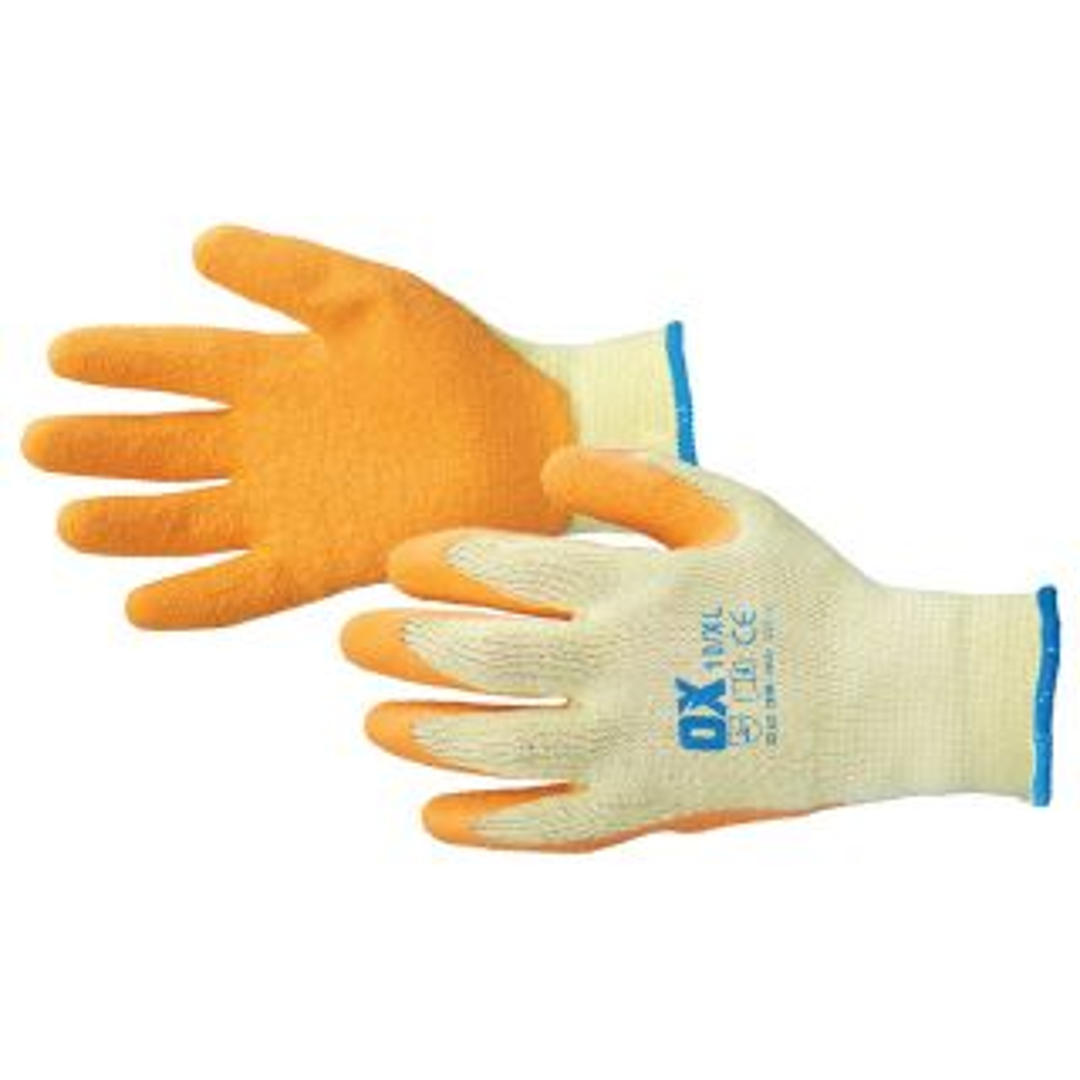 OX Latex Grip Gloves - XLarge