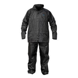Ox Waterproof Rain Suit Black - Medium
