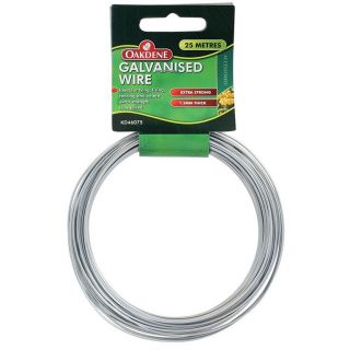 Oakdene Galvanised Wire 1.2mm (Approx 25m)