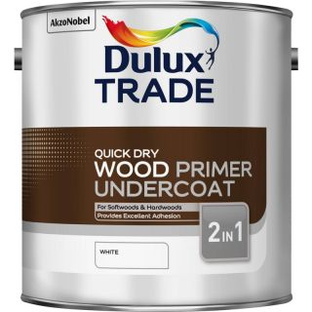 Dulux Wood Primer and Undercoat 2.5L