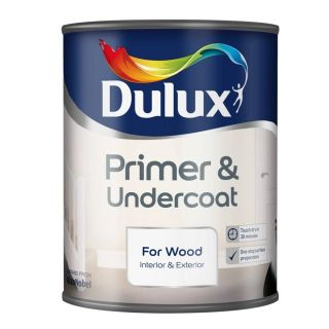Dulux Wood Primer and Undercoat 0.25L