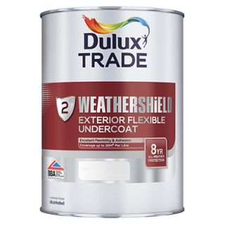 Dulux Trade Weathershield Exterior Undercoat Deep Base 1L