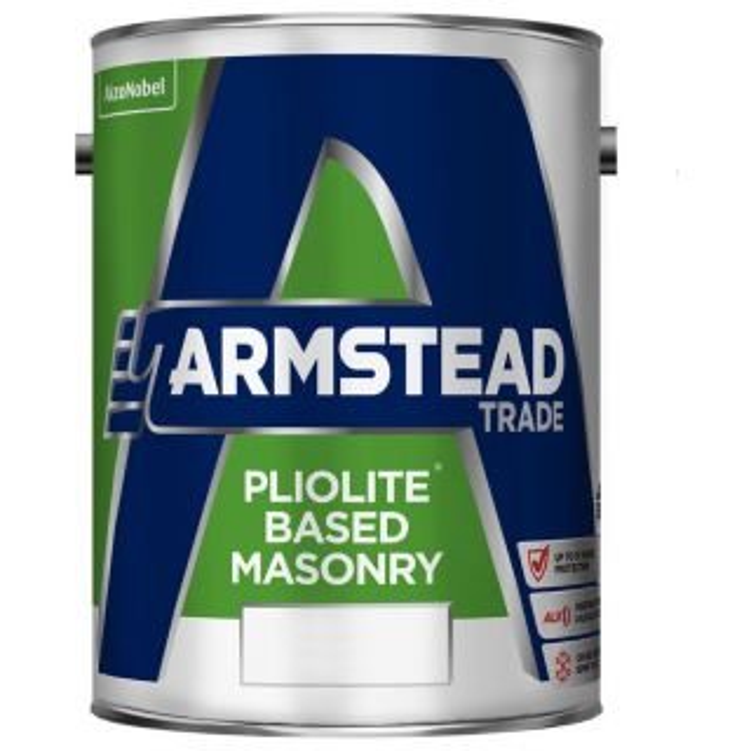Armstead Trade Pliolite Masonry Base White 5L