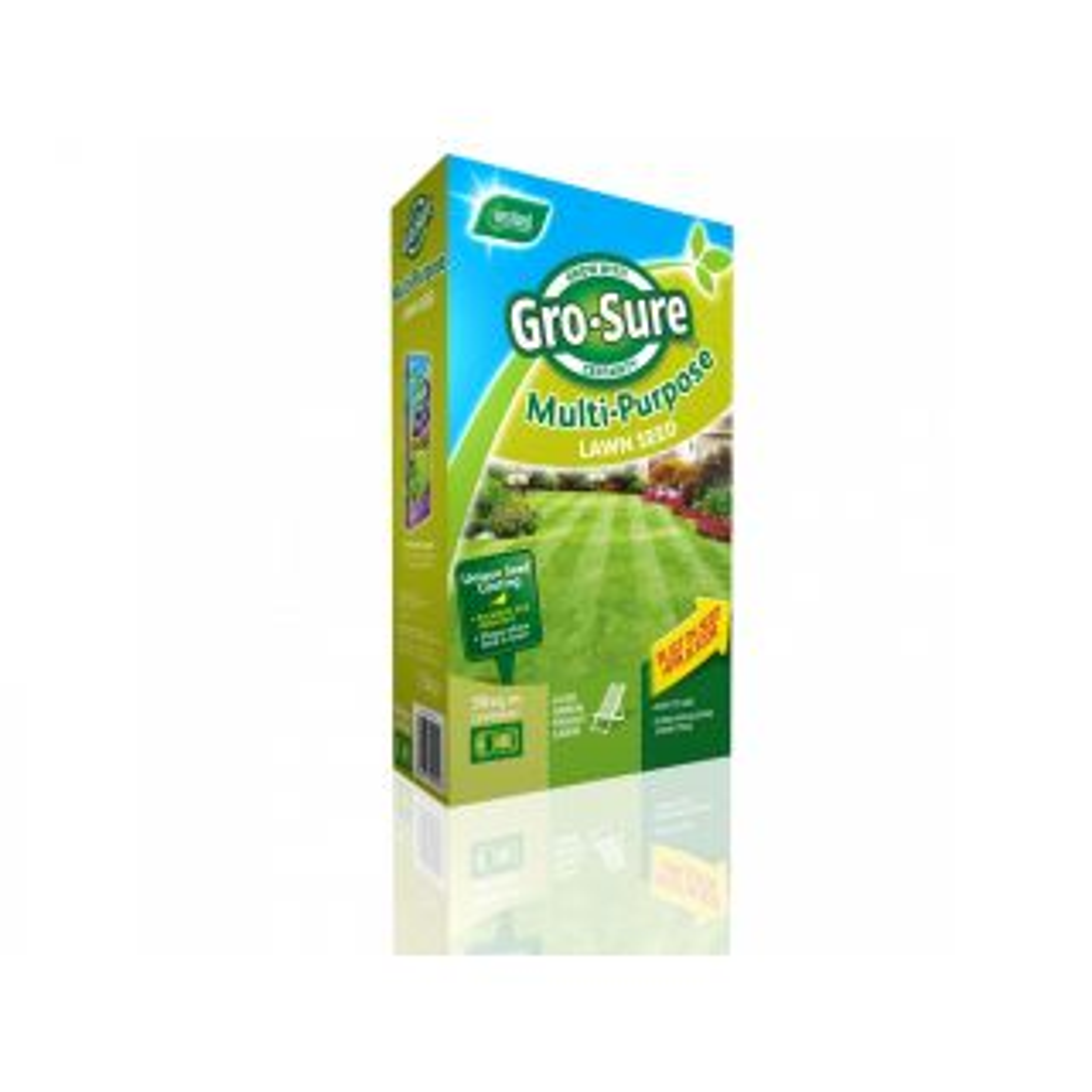 Westland Gro-Sure Multi-Purpose Lawn Seed 50m²