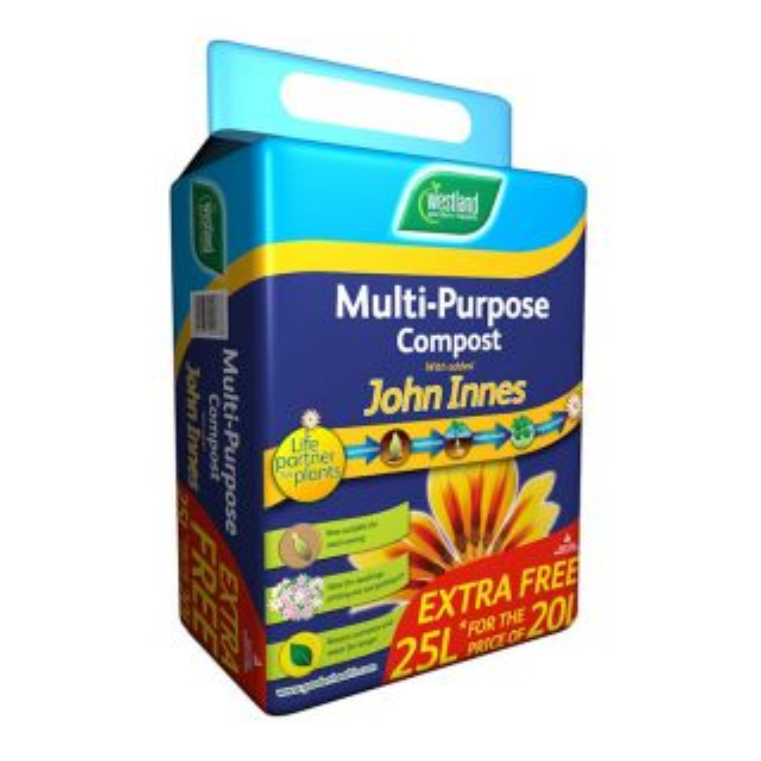 Westland Multi-Purpose Compost with John Innes Pouch 10L