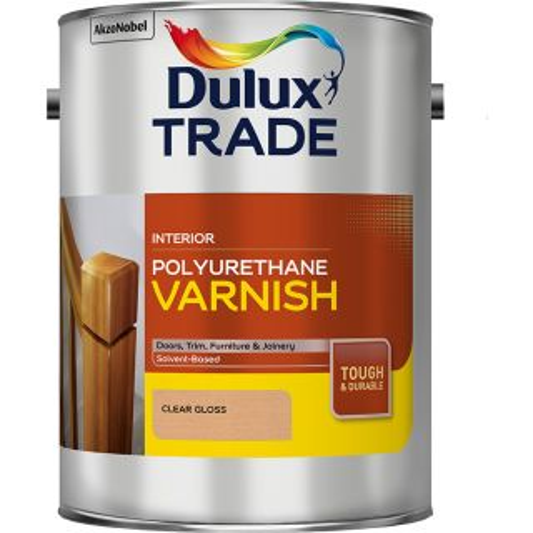 Dulux Trade Poly Varnish Gloss 1L