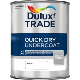 Dulux Trade Quick Dry Undercoat White 1L