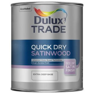 Dulux Trade Quick Dry Satinwood Extra Deep Base 2.5L