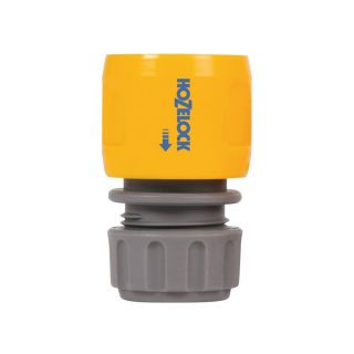 Hozelock Standard Soft Touch Hose End Connector Twin Pack