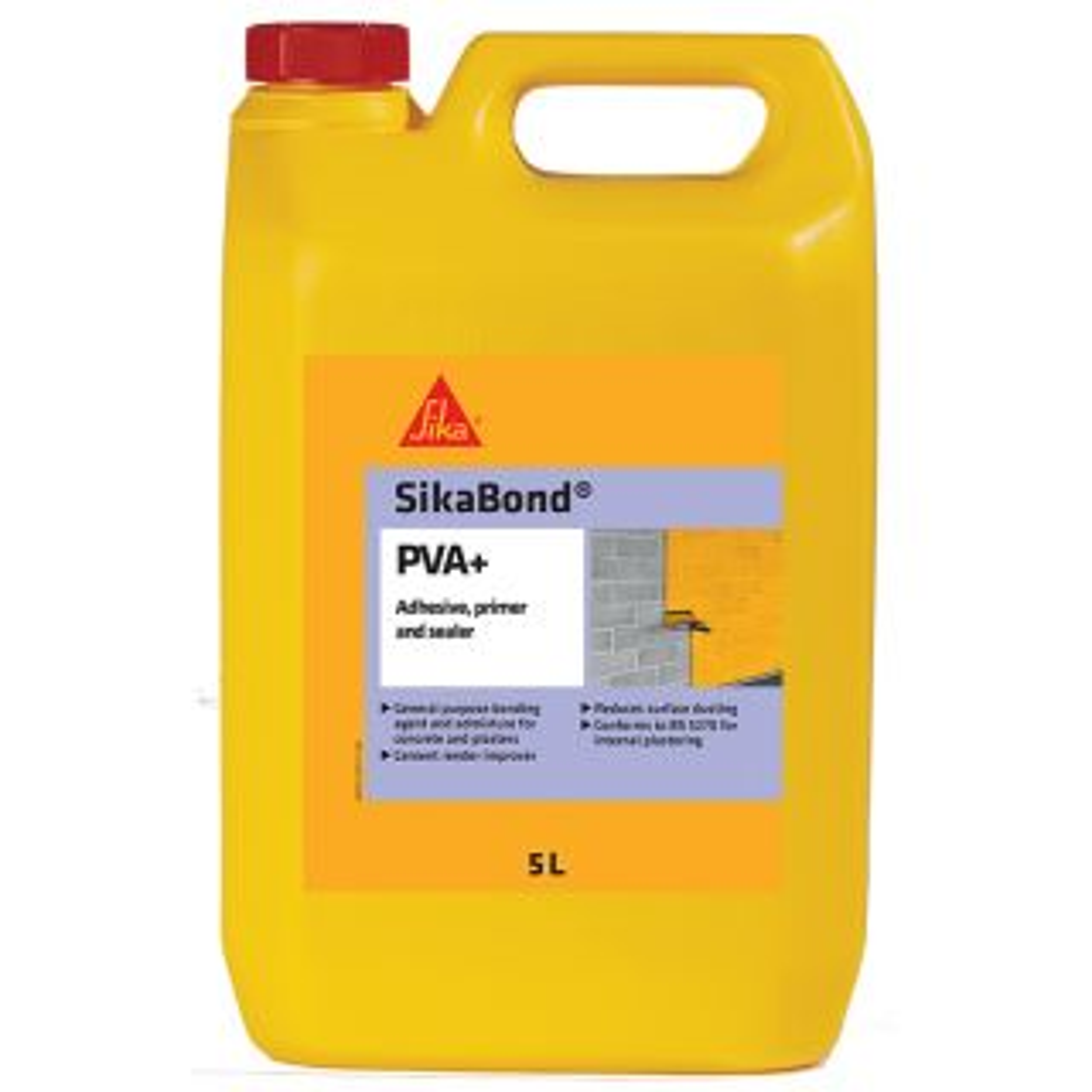 SikaBond PVA Adhesive, Primer & Sealer White 5L