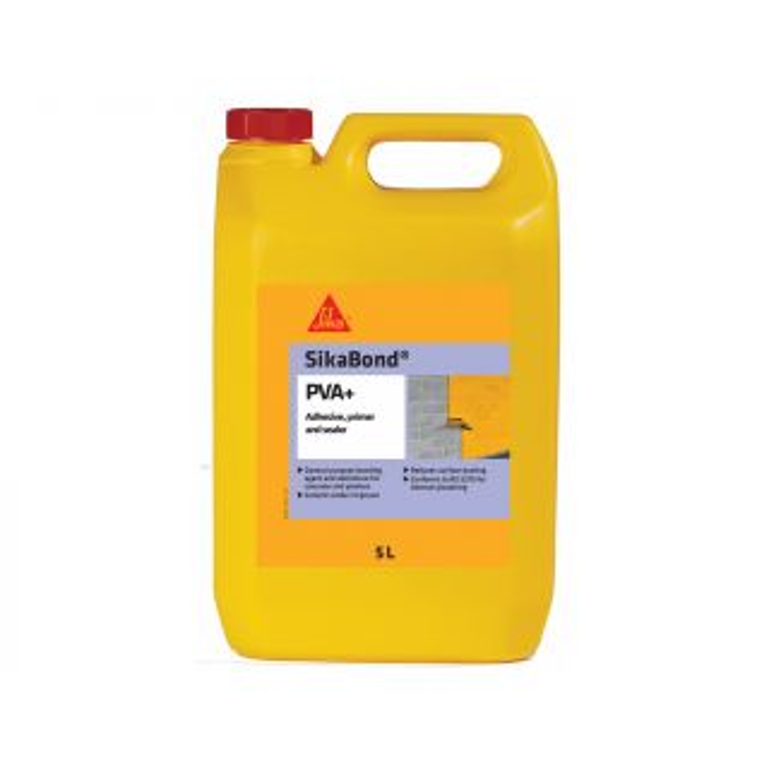 Sika SIKAPVA2 SikaBond PVA Adhesive, Primer & Sealer White 2.5L