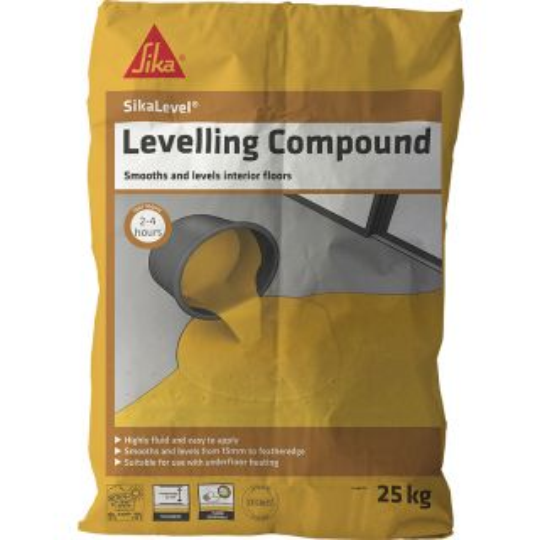 Sikafloor 122 Level Self Grey Levelling Compound 25Kg