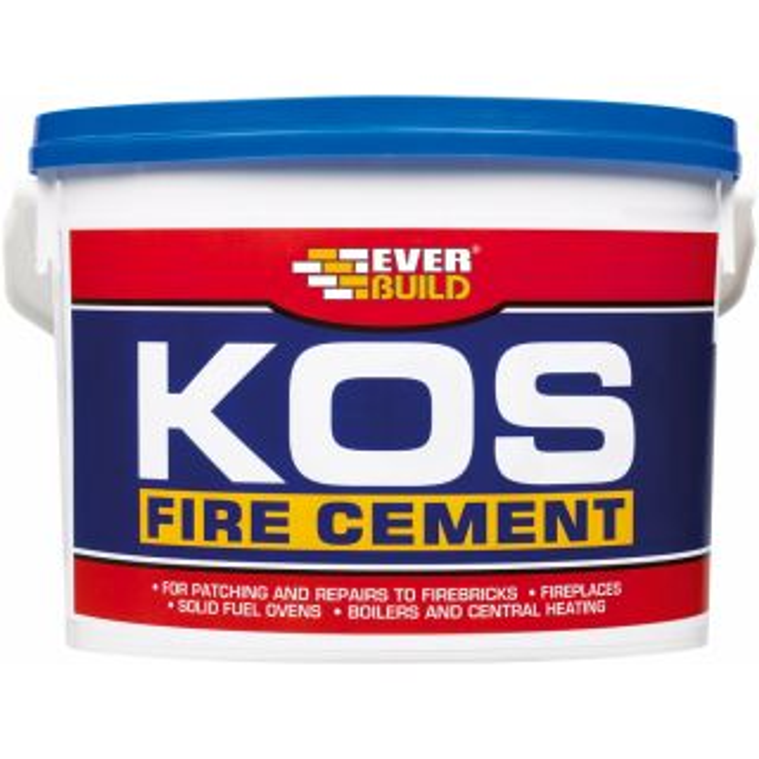 Everbuild KOS Buff Fire Cement 6Kg