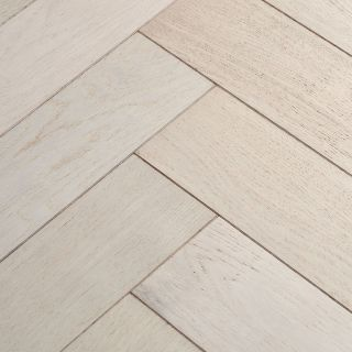 Woodpecker Goodrich Cotton Oak Brushed & Lacquered Engineered Flooring 400 x 90 x 15mm - 1.296m² Per Pack
