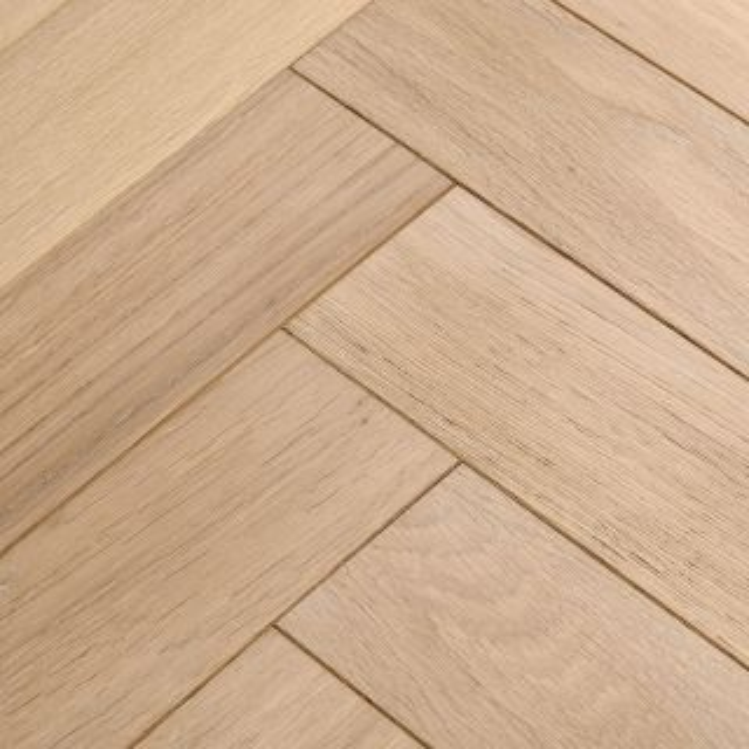 Woodpecker Goodrich Ecru Oak Brushed & Lacquered Engineered Flooring 400 x 90 x 15mm - 1.296m² Per Pack
