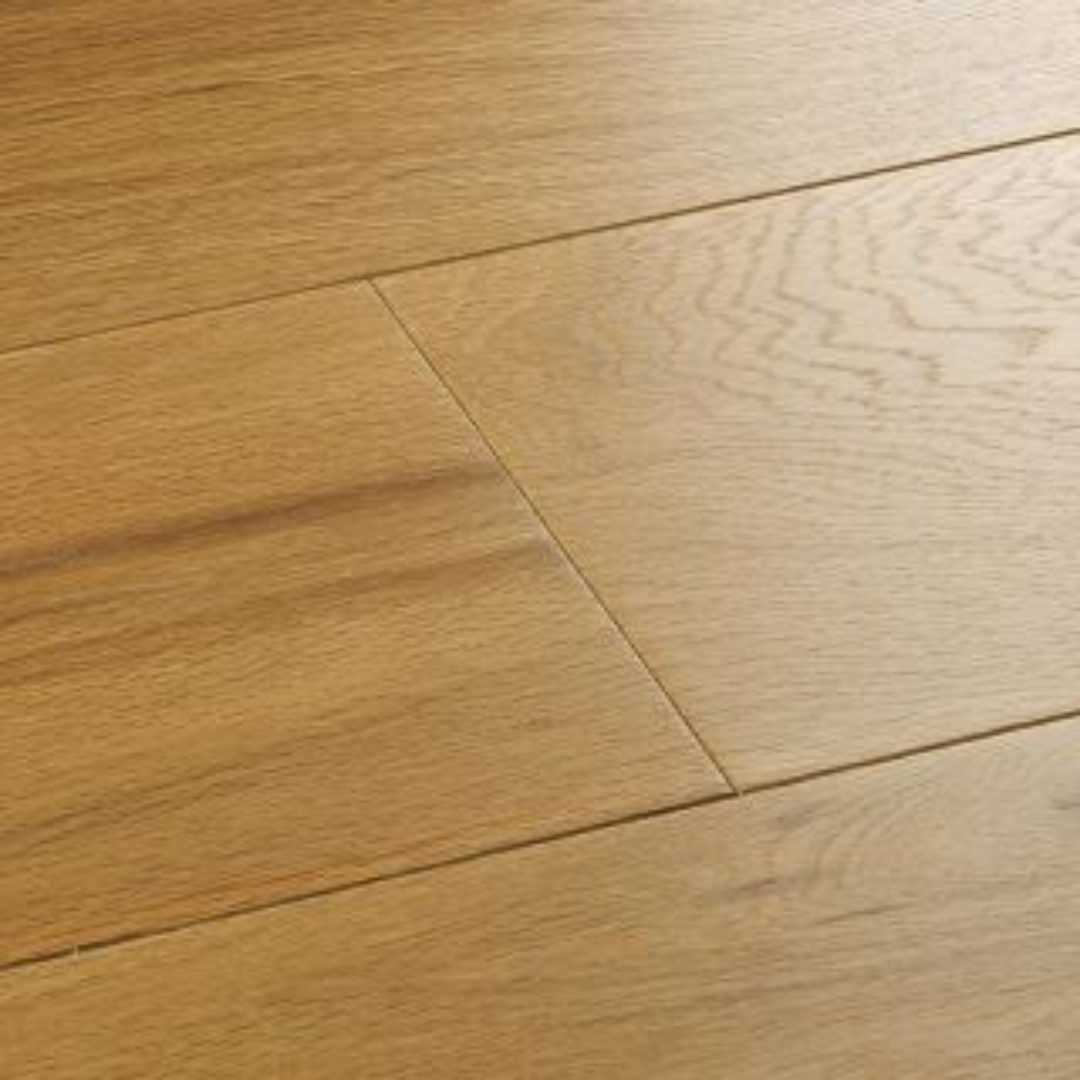 Woodpecker Harlech Raw Oak Wide Brushed & Matt Lacquered Engineered Flooring 1860 x 189 x 15mm - 2.11m² Per Pack