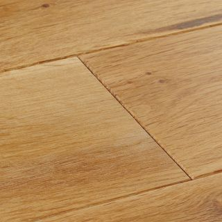 Woodpecker York Rustic Oak Brushed & Lacquered Solid Wood Flooring 300 x 150 x 18mm - 1.98m² Per Pack