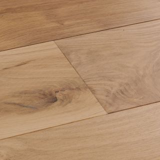 Woodpecker Harlech Raw Oak Wide Brushed & Matt Lacquered Engineered Flooring 2200 x 240 x 15mm - 2.11m² Per Pack