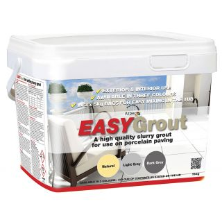 Azpects  EASYGrout Porcelain Paving Grout Dark Grey 15Kg