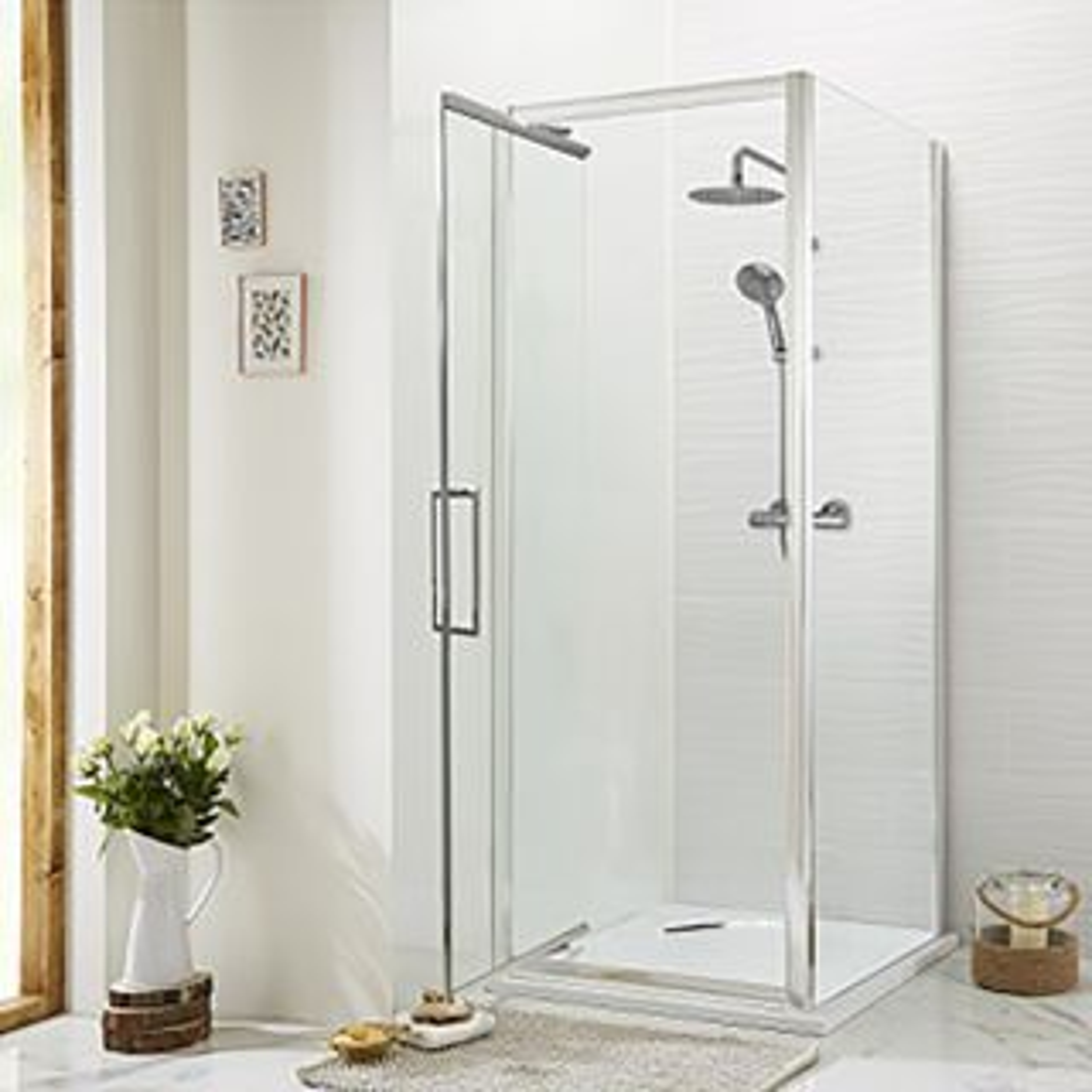 Highlife Cara 8mm Infold Door 1000 x 1900mm