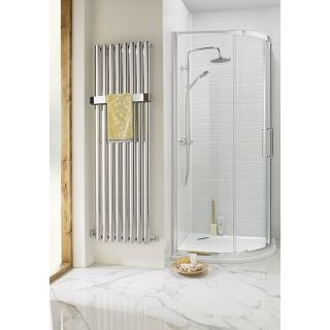 Highlife Lomond Anthracite Vertical Towel Radiator 480 x 1600mm
