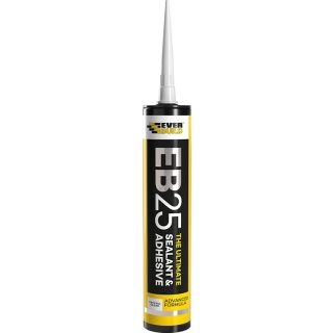 Everbuild EB25 Sealant & Adhesive Crystal Clear 300ml