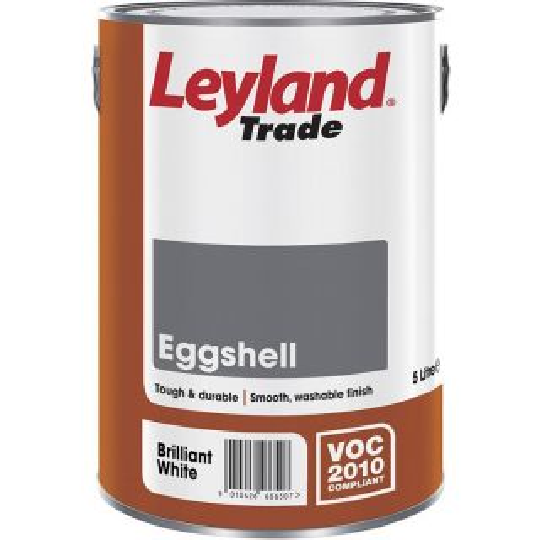 Leyland Trade Eggshell Brilliant White 750ml