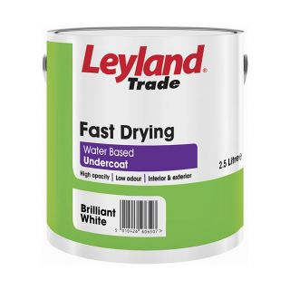 Leyland Trade Fast Drying Undercoat Brilliant White 2.5L