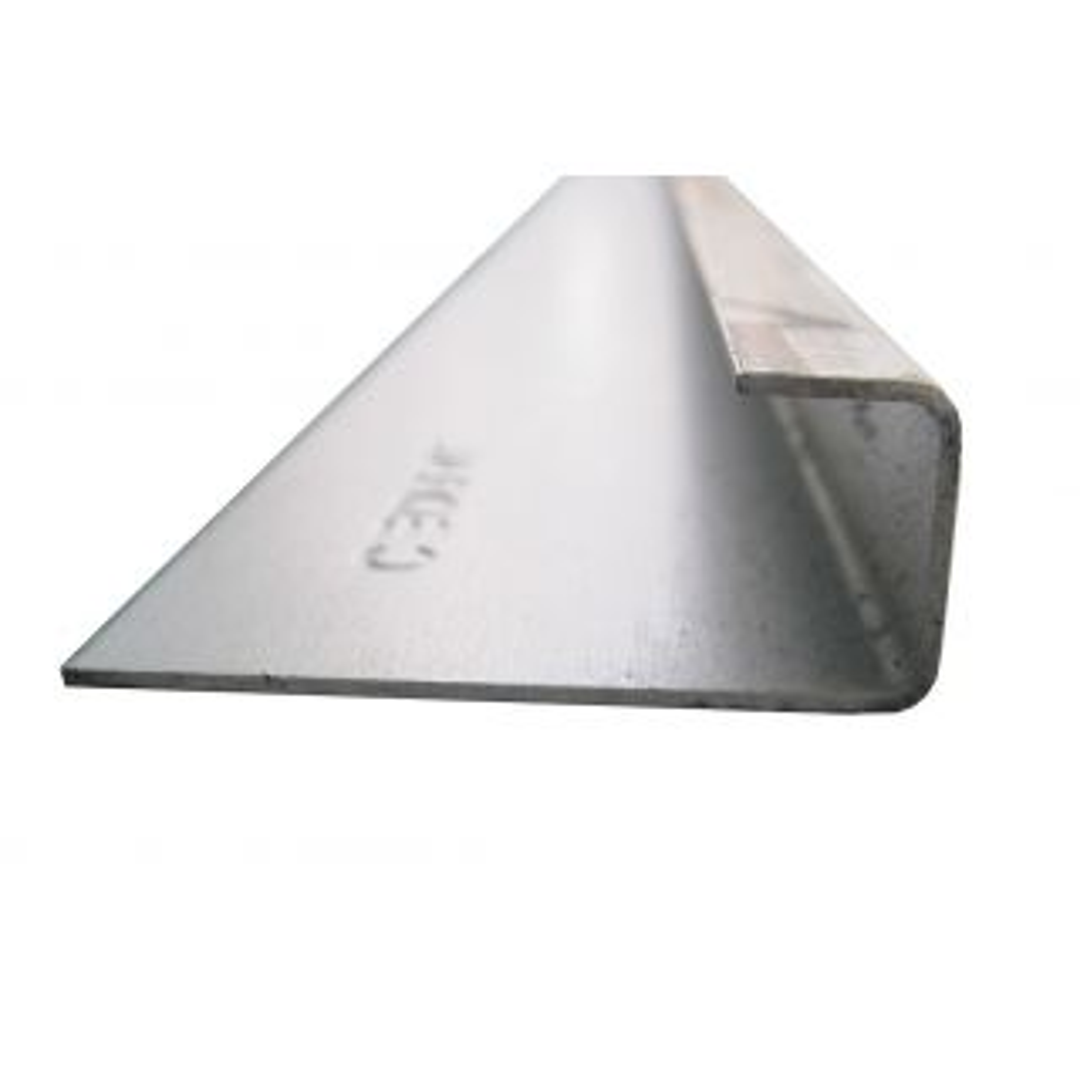 Marley Eternit Grey Aluminium Connection Profile 3m