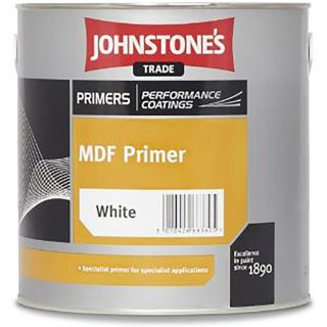 Johnstones MDF Primer Brilliant White 5L