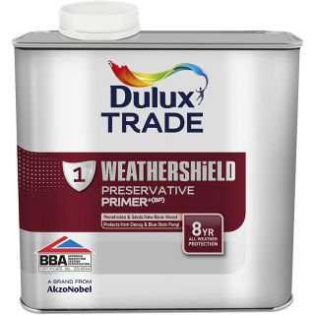 Dulux Trade Weathershield Exterior Preservative Primer (BP) 2.5L