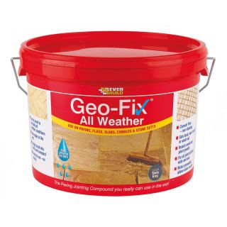 Geo-Fix Slate Grey All Weather Jointing Compound 14Kg