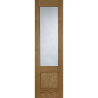 Mendes Pre-finished Oak Chiswick Glazed Door 40 x 1981 x 762mm