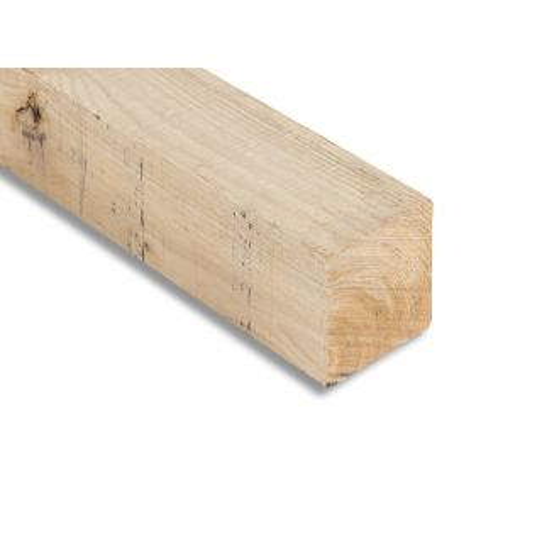 Sawn Oak Posts 200 x 200mm - 3.0m