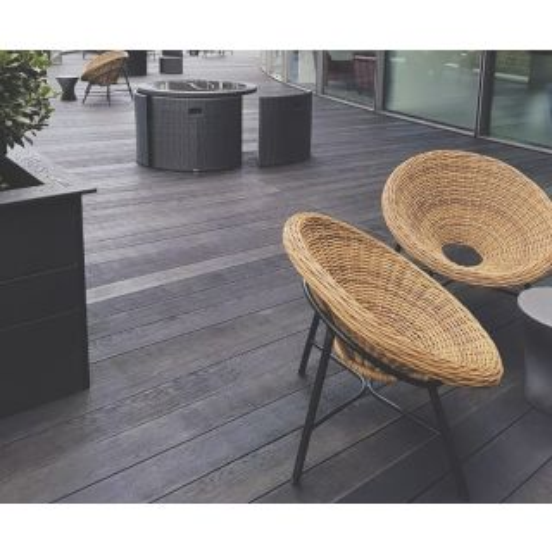 Millboard Enhanced Grain Burnt Cedar Decking 32 x 176 x 3600mm