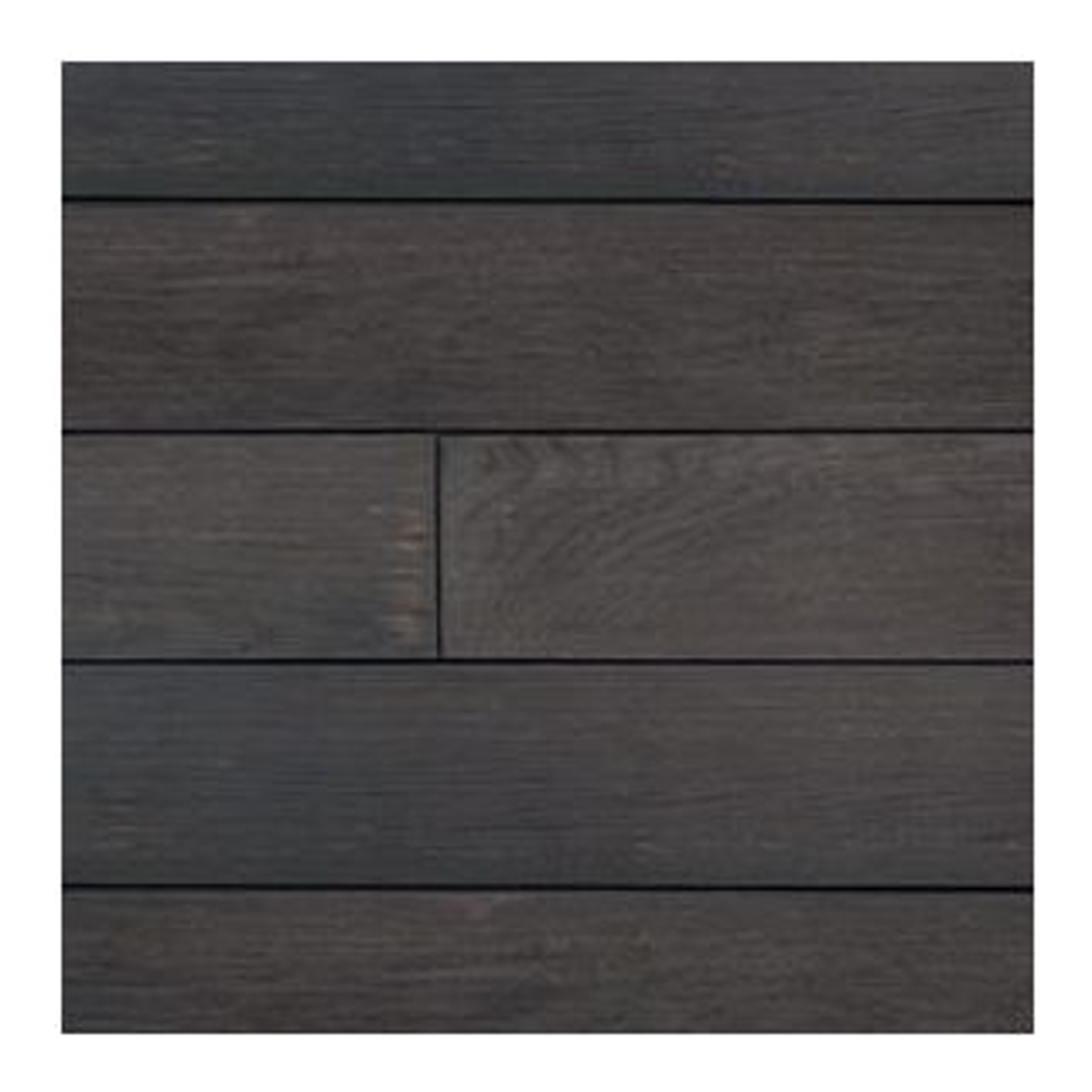 Millboard: Standard Bullnose Board Enhanced Grain Burnt Cedar150x32mm - 3.2m