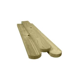Treated Softwood Round top Picket Pales 1050mm