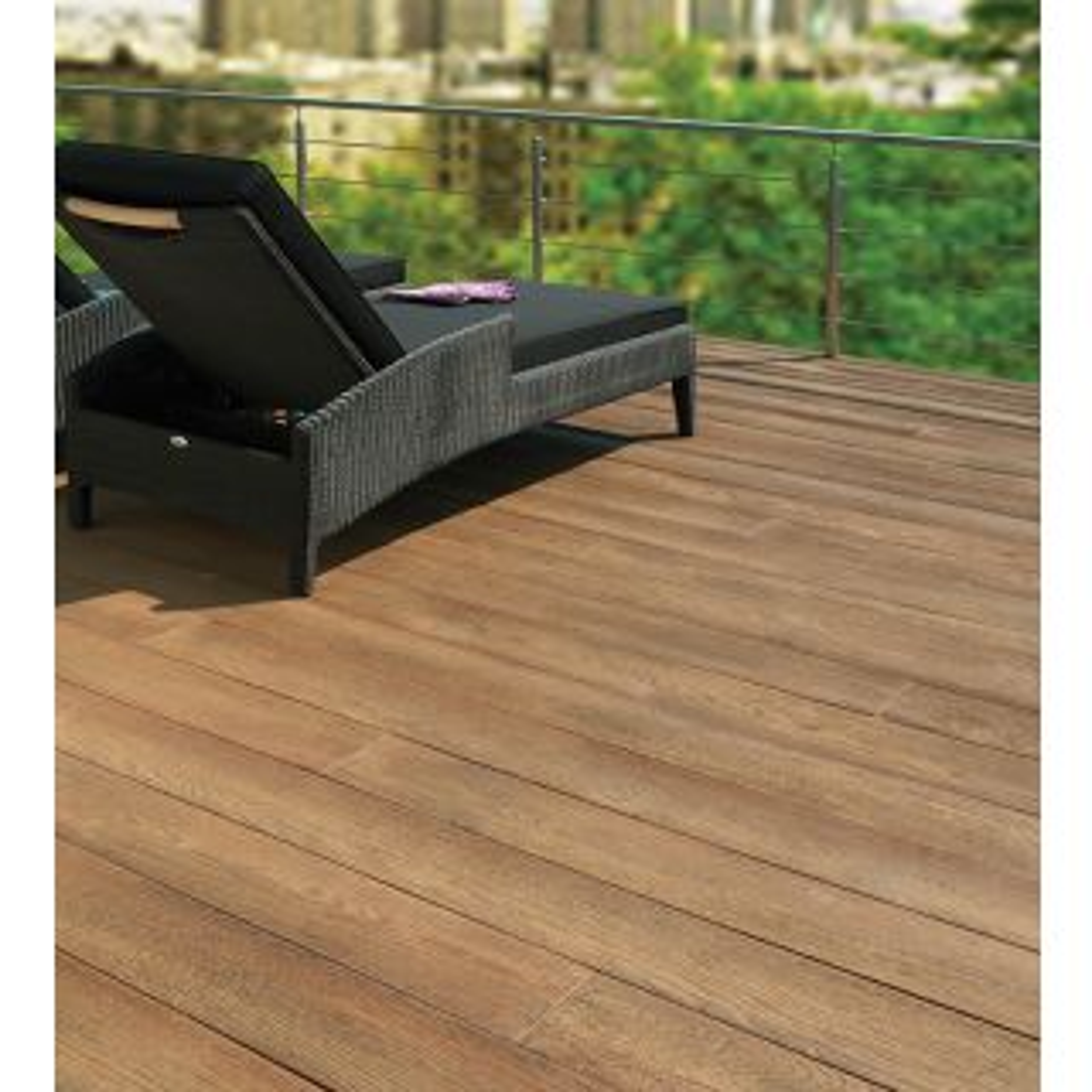 Millboard Enhanced Grain Coppered Oak 32mm x 176mm x 3600mm