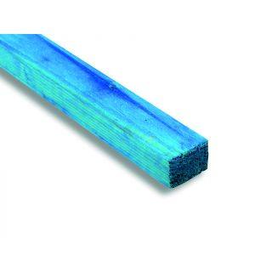 Treated Blue Graded Roof Batten 38 x 25mm
