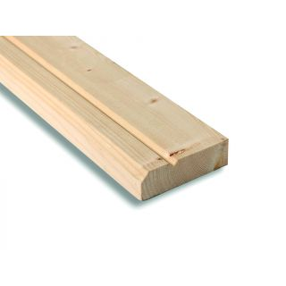 Softwood V.Grooved & Chamfered Architrave 75 x 25mm (Finished Size: 69 x 19mm)