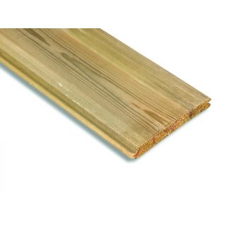 Treated Softwood Matching TGV & Beaded Cladding 125 x 19mm (Finished Size: 119 x 15mm)